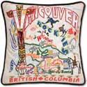 Catstudio Handmade Vancouver British Columbia Embroidered Pillow