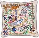 Catstudio Handmade Yosemite Park Geography Pillow