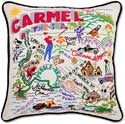 Giant Carmel By The Sea Handmade Pillow