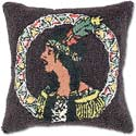 Handmade American Indian Throw Pillow