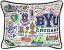 Handmade Byu Brigham Young University Pillow