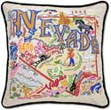 Handmade Embroidered Nevada Pillow