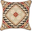 Handmade Italian Floral Decorative Pillow