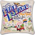 Handmade New York Fire Island Pillow