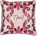 Holiday Noel Christmas Pillow