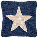 Texas Lone Star Decorative Pillow