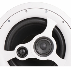 "10"" 3-Way Home Theater & Music In Ceiling Speakers"