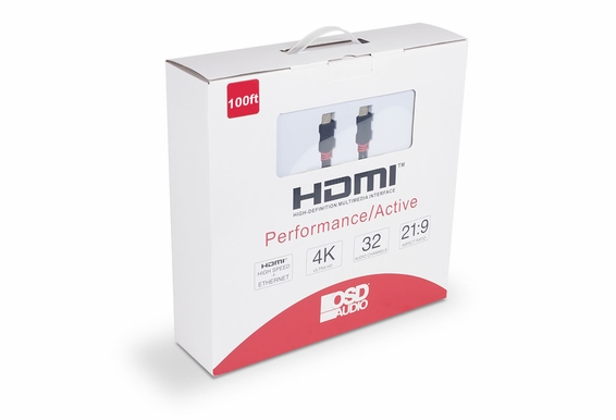 100ft Performance Series Active High Speed 4K HDMI Cable