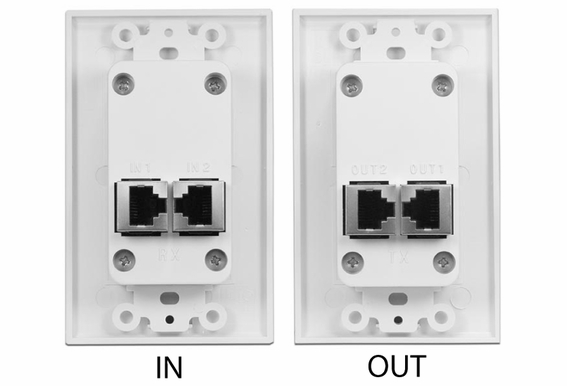 1080P HDMI Over CAT5 Video Blaun Wall Plate V1.3C