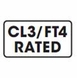 16 Gauge 2-conductor Oxygen Free Burial Rated In Wall Speaker Cable 500ft CL3