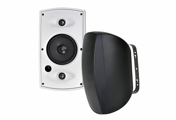 "AP650TT 6.5"" Dual Voice Coil/Dual Tweeter Indoor/Outdoor Stereo Patio Speaker Switchable 8/16 ohms"