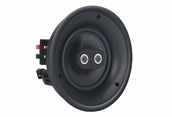 "ACE640TT 6.5"" DVC Dual Tweeter Stereo Trimless Speaker 120W w/Titanium Coated Dome Tweeters"