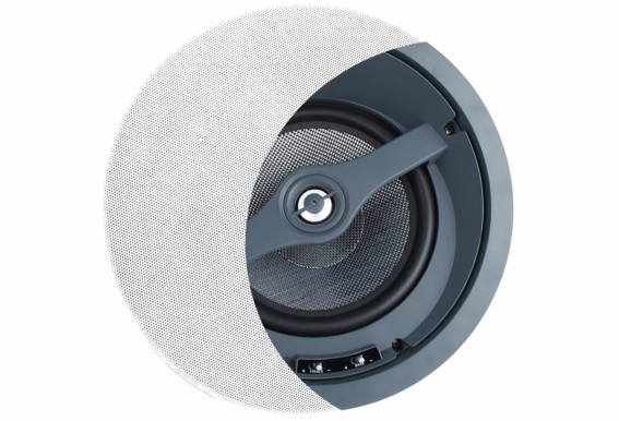 "OSD Audio ACE870 Angled Invisible Trimless LCR Ceiling Speaker with 8"" Kevlar® Woofer, Dolby Atmos®  Ready (Single Speaker)"