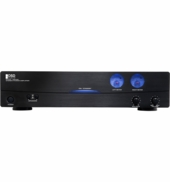 AMP200 High Current Class A/B 2 Channel Amplifier 200-Watts (2 Ohm stable) Bridged Mono 250-Watt