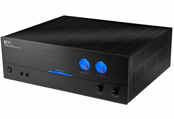 AMP300 High Power 2-channel Stereo A/B Class Amplifier with Dual Source Switching, 350W x 2, 470W Bridged Mono Output 2 Ohm Stable
