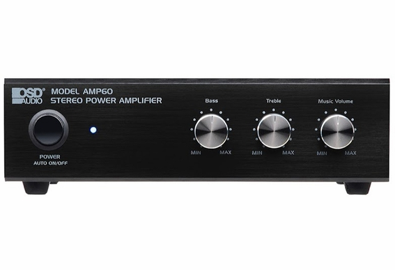 AMP60 2-Channel 25-Watt Compact Stereo Amplifier V2.0