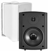 "AP520 High Definition Outdoor Patio Speaker 5.25"" Pair Black White 2-Way 70V Optional"