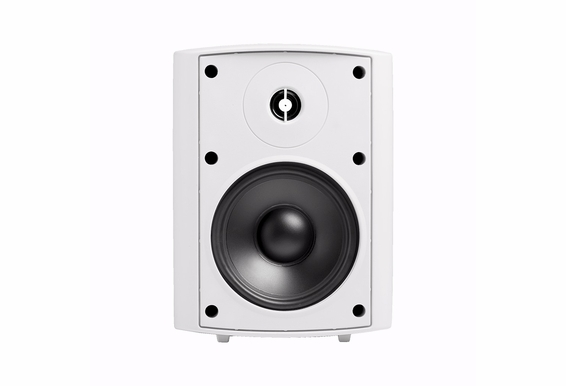 "AP520 High Definition Outdoor Patio Speaker 5.25"" Pair White Black 2-Way 70V Optional"