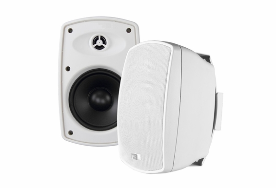 "AP650 High Definition Outdoor Patio Speaker 6.5"" Pair Composite Resin Low Resonator Cabinet 2-Way 70V Optional"