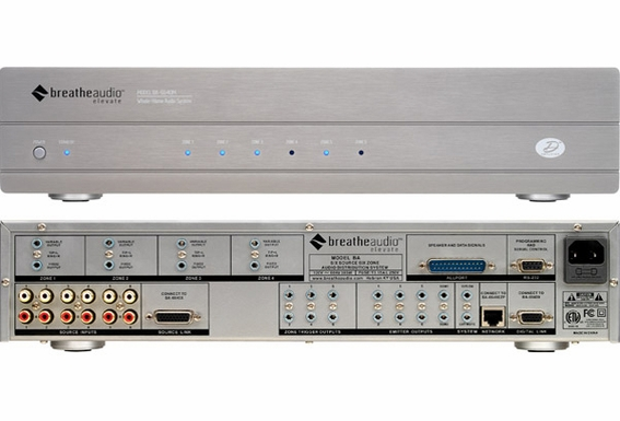 Breathe Audio BA-6640MS 6 Source 6 Zone System