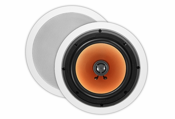 "OSD Audio ICE840 8"" Woofer 1"" Silk Tweeter High Definition 175W Ceiling Speakers Pair White"