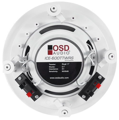 Osd Audio Ice600ttwrs 6 5 U0026quot  Dual Tweeter Stereo Ceiling