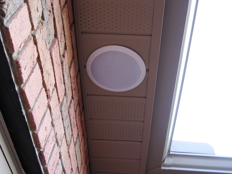 8 ceiling speakers premium custom installed outdoor weather resistant ceiling speakers 70 off for Installing in wall speakers on exterior wall