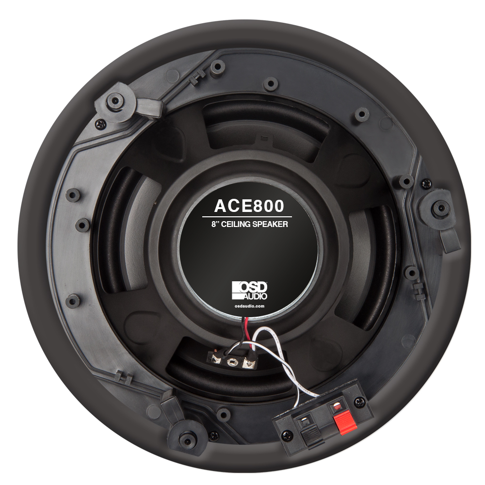 Ace800 Trimless 8 Inch 120w 2 Way In Ceiling Speaker 8