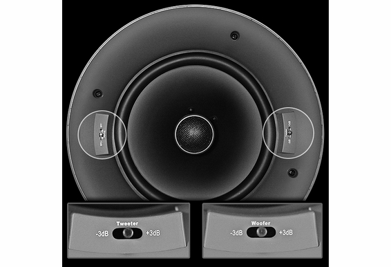 Ceiling Speakers  Trimless, Thin Bezel, Pair OSD Audio ACE520