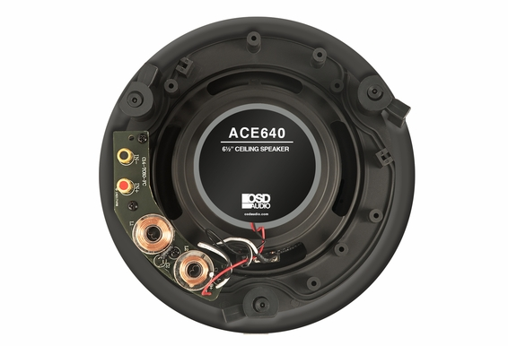 "ACE640 6.5"" Thin Bezel High Definition 2-Way Ceiling Speaker Pair"