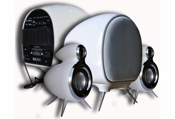 2.1 Active Classic Looking Power Speaker with Powered Subwoofer