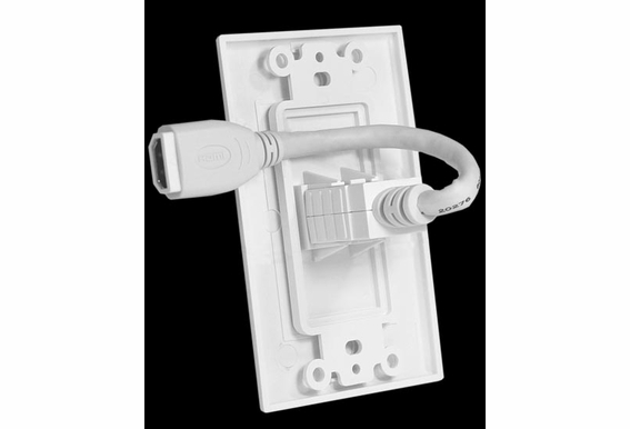 HDMI Wall Plate Single Decora Premium