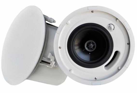 "ICE640ST 6.5"" Trimless Ceiling Speaker With Backcan"