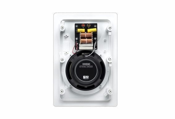 "In Wall Speaker 6.5"" Kevlar® IW690 Pair"