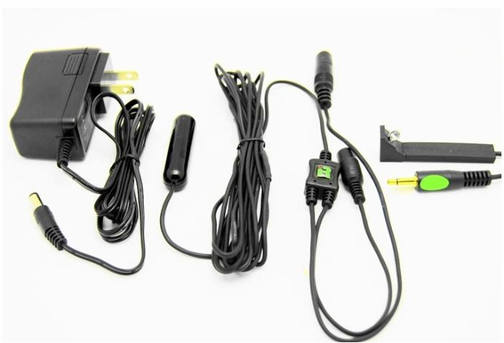 IRP-B: Dual Frequency, Single Blaster Plasma Proof IR Repeater Kit
