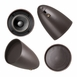 Landscape In-Ground Outdoor Light Dome Shaped Speaker Pair Wall Mountable OSD Audio LS2