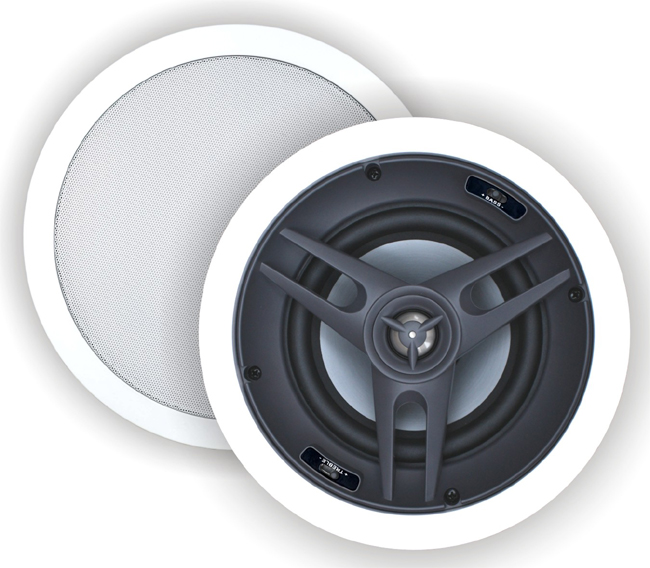 5 1 Surround Sound Ceiling Speakers Six Flush In Ceiling