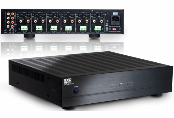 MX1260 High Efficiency 60 Watts x 12 Channel (4 Ohm stable) Bridged Mono 80 Watts