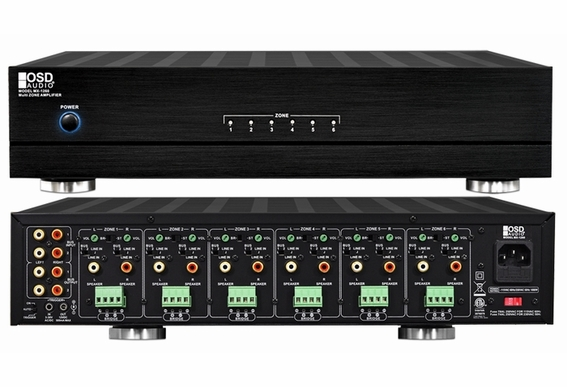 MX1260 Multi-Zone 12-Channel Bridgeable Stereo Amplifier - B Stock