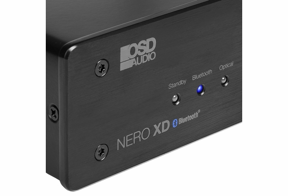 Nero-XD 200W HiFi DAC 2-Channel Class D Stereo Power Amplifier w/ Bluetooth Wireless, Optical, RCA, 3.5MM Inputs, Remote Control