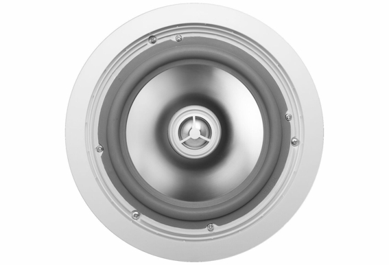 "OSD Audio ICE840WRS 8"" Weather Proof Outdoor Rated Ceiling Speakers Aluminum Grill Swivel Tweeter W/ Crossover Pair"