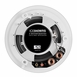 """OSD Audio ICE840WRS 8"""" Weather Proof Outdoor Rated Ceiling Speakers Aluminum Grill Swivel Tweeter W/ Crossover Pair"""