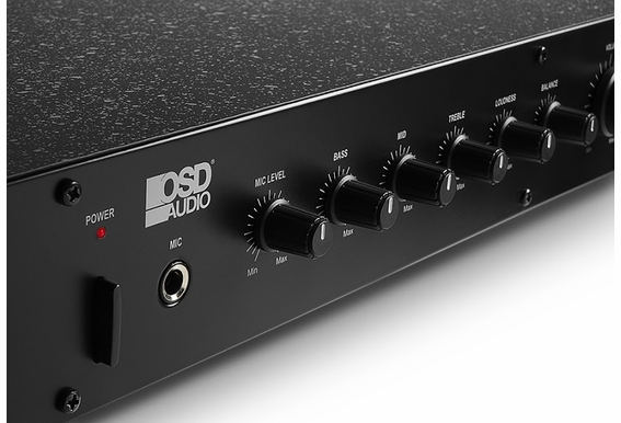 OSD Audio Preamp-1 Professional Preamplifier Home Theater Surround Sound Home Recording