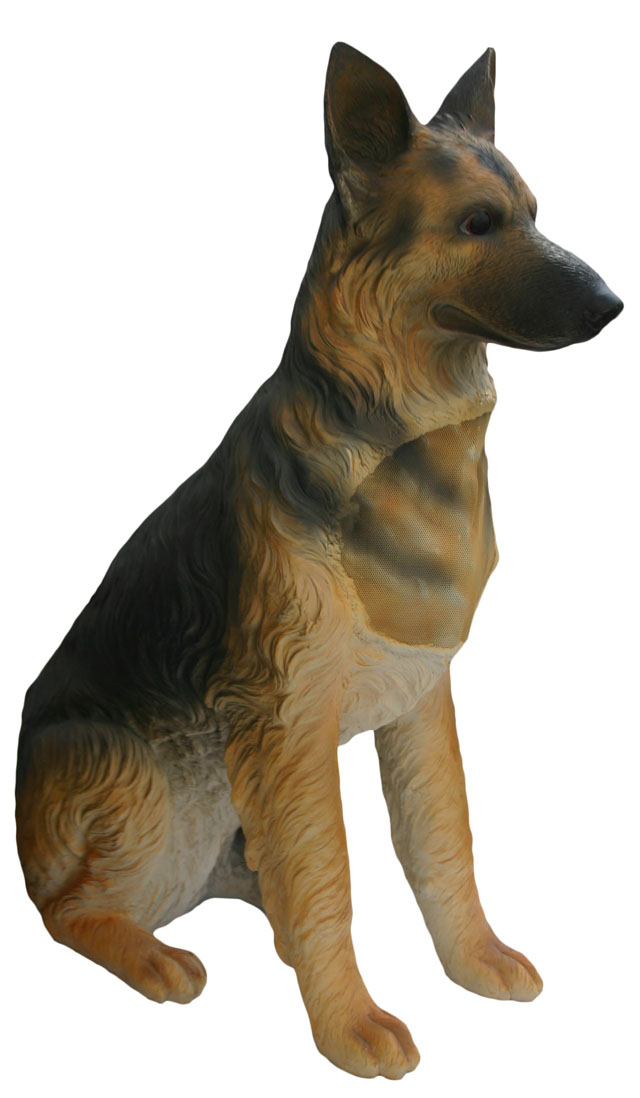 Osd Ds850 Dog Life Sized German Shepherd Speaker