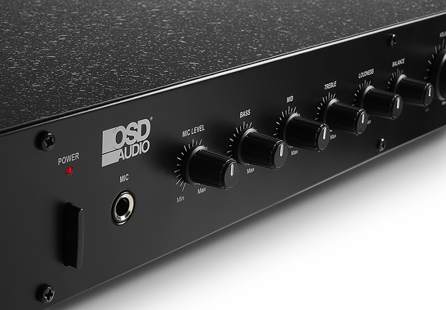 Osd Audio Preamp 1 Professional Preamplifier Home Theater