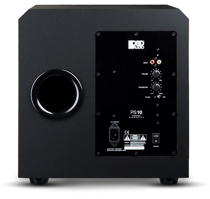 Ps10 10 Inch High Powered Premium Home Theater Subwoofer