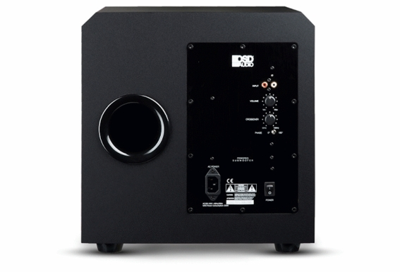 "PS12 12"" Custom Built High Definition 450W Home Theater Subwoofer Black Wood Veneer, Singel Drive"