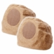 "RS690 175W High Fidelity 6.5"" Rock Speaker Pair Sandstone Brown Color On Sale"