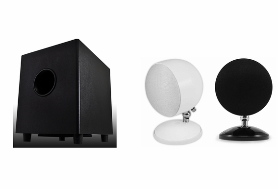 Satellite Speaker and Subwoofer Bundle OSD Bundle 1