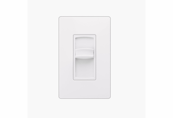 Screwless Wall Plate Slide Style 300W Impedance Matching Volume Control